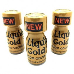 Liquid Gold 10ml Poppers x 3