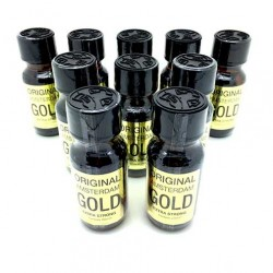 Amsterdam Gold 25ml Poppers x 10