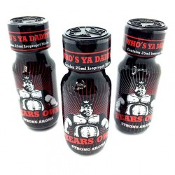Bears Own 25ml Poppers x 3