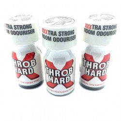 Throb Hard 10ml Poppers x 3
