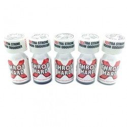 Throb Hard 10ml Poppers x 5