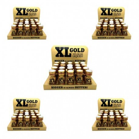 XL Gold Poppers x 100 - uk poppers wholesale